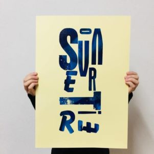 Stampa tipografica a caratteri mobili di legno e piombo. Progetti personali o commissioni. Stampa manuale con torchio tirabozze a Ceccano,Frosinone