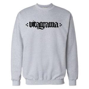 vitagrama-felpa grigia